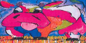 Voorbeeld van een van de vrolijke schilderijen van Vrolijk Schilderij – bron: rechtspraak.nl